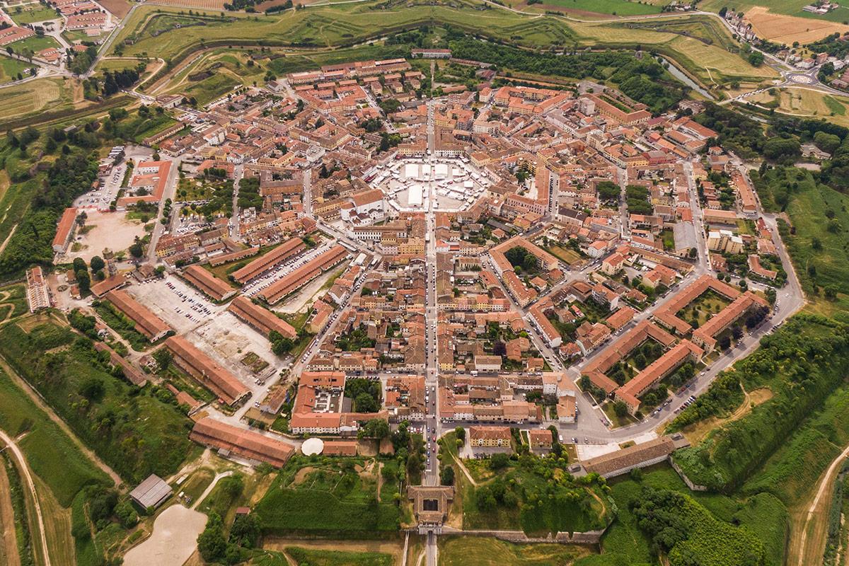 palmanova-aerial-view